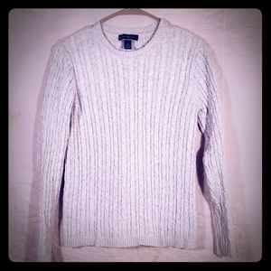 Karen Scott Cable knit sweater